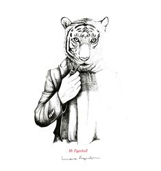 Becoming Animal - Laura Agustí Brush Pen Art, Art Forms, Old And New, Adult Coloring, Illustrators, Pop Art, Cartoon, Drawings, Prints