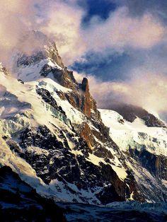 Mount Blanc Light, French Alps via flickr