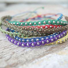 friendship bracelets, macrame bracelets, diy