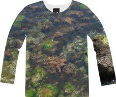 Adriatic Sea Long Sleeve Tee from Print All Over Me