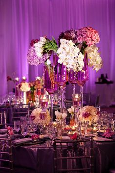 25 Stunning Wedding Centerpieces – Part 13