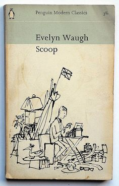 """Feather footed through the plashy fen passes the questing vole"".  Genius.    Evelyn Waugh : Scoop by alexisorloff, via Flickr"