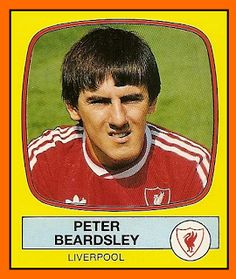 Old School Panini: Peter Beardsley (1988) #LFC