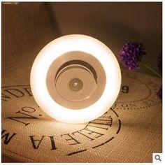 [US$7.99] Mini Wireless Infrared Motion Sensor Light Ceiling Led Porch Lamp Night Light #mini #wireless #infrared #motion #sensor #light #ceiling #porch #lamp #night