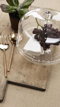 Show off your delicious treats in our in-house designed sumptuous Oliver Bonas Glass Serving Stand & Dome.