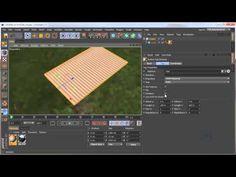 Cinema 4D tutorial: Random Cloner Texture - YouTube