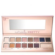 Naturally Pretty™ Matte Luxe Transforming Eyeshadow Palette #BestEyeSerum Matte Eyeshadow Palette, Makeup Palette, Eyeshadows, Makeup Eyeshadow, Sephora, Le Contouring, It Cosmetics, Pink Palette, Diy Home