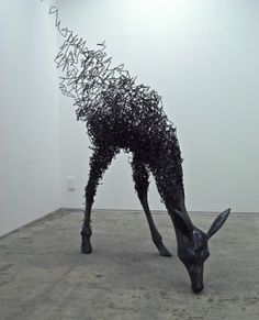 (title unknown), Steel wire. Tomohiro Inaba, Tochigi, Japan by michalrz