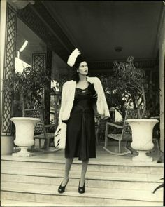 Aline Johnson de Menocal, 1946. Cuba.