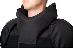 PPSS Cell Extraction Vest showing neck protection