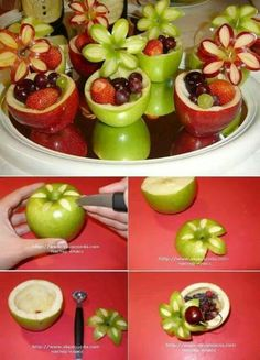 Cool fruit tray