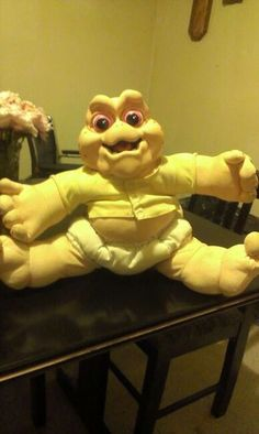 "Baby From The 1990's Show ""Dinosaurs"""