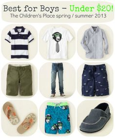 Boy Style The Childrens Place spring summer 2013