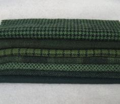 Your place to buy and sell all things handmade Fabric Shop, Wool Fabric, Felted Wool, Wool Felt, Prov 31, Tartan, Plaid, Wool Shop, Green Texture