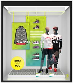 TRC designed this NEO window to be modular/flexible and it was based on a pegboard panel system, allowing for product to be easily swapped out using peg hooks with a variety of different set up's. It also means the window components can be used for more than one campaign. March 2016. #retail #vm #design