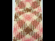 Learn to work Yarn Pooling in Crochet - YouTube