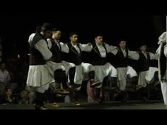 """Έντεκα της Δ. Μακεδονίας - Enteka (Eleven): a traditional Greek folk dance from West Macedonia that is mainly done in Kozani. The origin of the name has the following story: During the Ottoman Empire, the Ottoman Turks imposed a ban on any outdoor roaming after 11pm. The Greeks did this dance upon leaving the cafes at eleven o'clock in order to frustrate their oppressors and then informally named it """"eleven."""" The dance is also called """"Skorpios"""" because it can be danced scattered or…"""