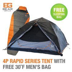 Free sleeping bag!
