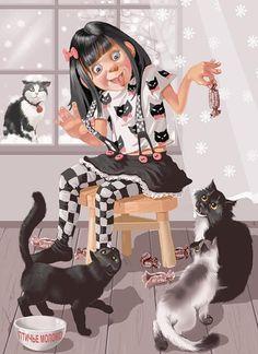 682346e8dc4145e8a00afb7657e04bb - Illustrations by Doronina Tatiana  <3 <3