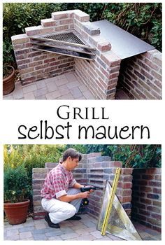 1000 grill bauen pinterest gemauerter grill gartengrill selber bauen. Black Bedroom Furniture Sets. Home Design Ideas