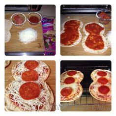 Pizza! Creating Recipes with Flatout Hungry Girl Foldit Flatbreads. #Flatouthot
