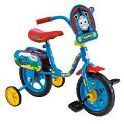 Thomas And Friends 10 Bike The Thomas and Friends 10 bike has a steel frame and features fun Thomas and Friends graphics and plaque. This bike features EVA tyres, non removable stabilisers and a height adjustable saddle. Colour http://www.comparestoreprices.co.uk/kids-bikes-
