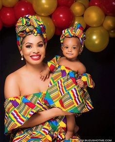 Choose from the best and beautiful matching African ankara styles for mother and daughter. These ankara styles are meant for stunning mother and daughter African Print Fashion, Africa Fashion, African Fashion Dresses, African Attire, African Wear, African Outfits, African Style, African Dashiki, Ankara Fashion