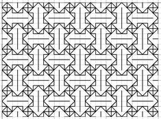 """Blackwork: Fill Pattern """"Go Your Own Way"""" Blackwork Cross Stitch, Blackwork Embroidery, Cross Stitch Borders, Hand Embroidery Patterns, Cross Stitch Kits, Cross Stitching, Graph Paper Drawings, Graph Paper Art, Blackwork Patterns"""