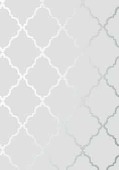 Anna French Klein Trellis Silver on Grey Wallpaper - - Seraphina Collection Wallpaper Sky, Bathroom Wallpaper, French Wallpaper, Wallpaper Patterns, Grey Moroccan Wallpaper, Grey Wallpaper Designs, Grey Wallpaper Living Room, Grey Wallpaper Iphone, Luxury Wallpaper