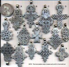 Ethiopian Coptic Crosses