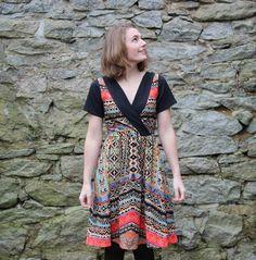 Colette Pattern's Wren Dress