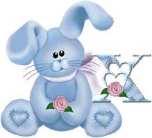 sylvia0333 - Page 94 Alphabet, Images Gif, Creations, Christmas Ornaments, Holiday Decor, Gifts, Art, Blog, Bunnies