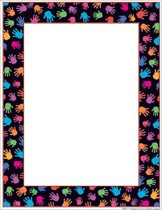 Our Hands Can Printer Paper Board Decoration, Class Decoration, School Decorations, Flower Bulletin Boards, Kids Bulletin Boards, Independence Day Decoration, Boarder Designs, Boarders And Frames, Simple Borders