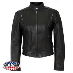 Cool #Go4USA Product…  Ladies Classic Vented Leather Jacket  at All American Clothing Co.