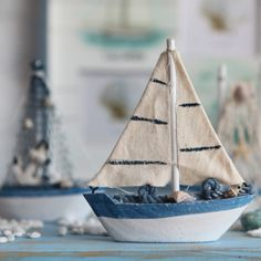Földközi-tenger tengeri vitorlás hajó díszítése halászhajó, fából készült hajó dekoráció teszi, hogy lemenjek a vitorlát, a Földközi-tenger