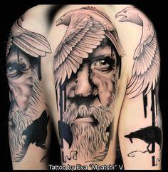 Beautiful Odin by Eva Mpatshi V