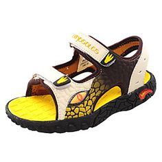 Boys' Shoes Comfort Flat Heel Sandals with Magic Tape More Colors available