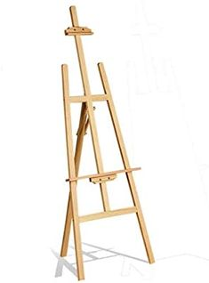 Pine Wood Tall Adjustable Durable Art Artist Sketch Drawing Stand Display Painting Easel for Kid and Adults-Painting Display Exhibition Wedding Fits Small and Large Canvas's Easels Drawing Stand, Sketch Drawing, Easels, Large Canvas, Pine, Display, Amazon, Drawings, Wood