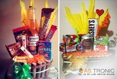 Ancheta de dulces. Buena idea de regalo!