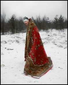 Ivan The fool (durak) and other Russian folklore in surreal photographs