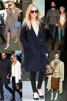 Kate Bosworth's Coat Show