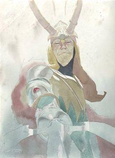 Loki by Esad Ribic *