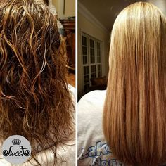 No more using a flat iron for an hour! Try the FIRST Smoothing Shampoo today.   Hair by: Lisa Morin