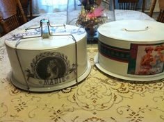 Pollyanna Reinvents: Cake Takers that Take The Cake!!