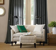Marcel Upholstered Mini Sofa