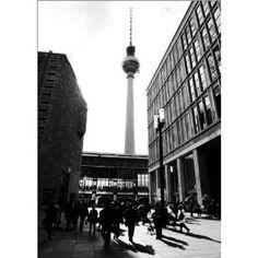 photo poster Berlin street in size: 50 x 70 cm by F. Art-FF77