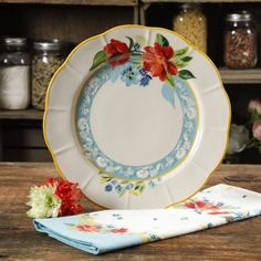 The Pioneer Woman Spring Bouquet 11-Inch Dinner Plate