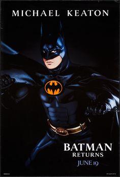 Michael Keaton Batman, Dc Trinity, Batman And Catwoman, Batman Returns, Internet Movies, Warner Brothers, Tim Burton, Auction, Superhero