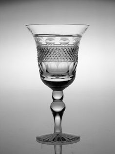 Cumbria Crystal are the sole remaining producers of hand-blown and hand cut English 30% lead crystal. The Grasmere Collection consists of many pieces that can be seen around the dining table on the set of Downton Abbey.