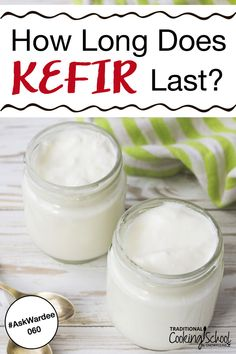 How Long Does Kefir Last? 060 Ever wonder how long kefir will last? You've learned what is kefir, how to make kefir and how to use it in recipes like smoothies, cheese and ice cream. You also know about all the benefits, but did you know homemade cultured Goat Milk Recipes, Whole Food Recipes, Snack Recipes, Paleo Recipes, Breakfast Recipes, Snacks, Water Kefir, Kefir Milk, Make Sour Cream